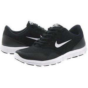 EUC Nike Orive black white running shoes 8